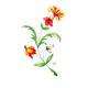 Unseen No. 2 Watercolour flower