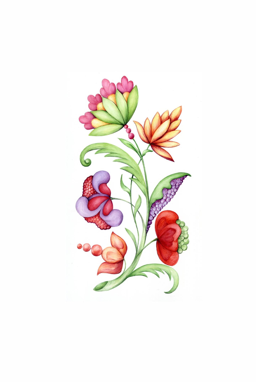 Unsen No. 5 fantasy flowers