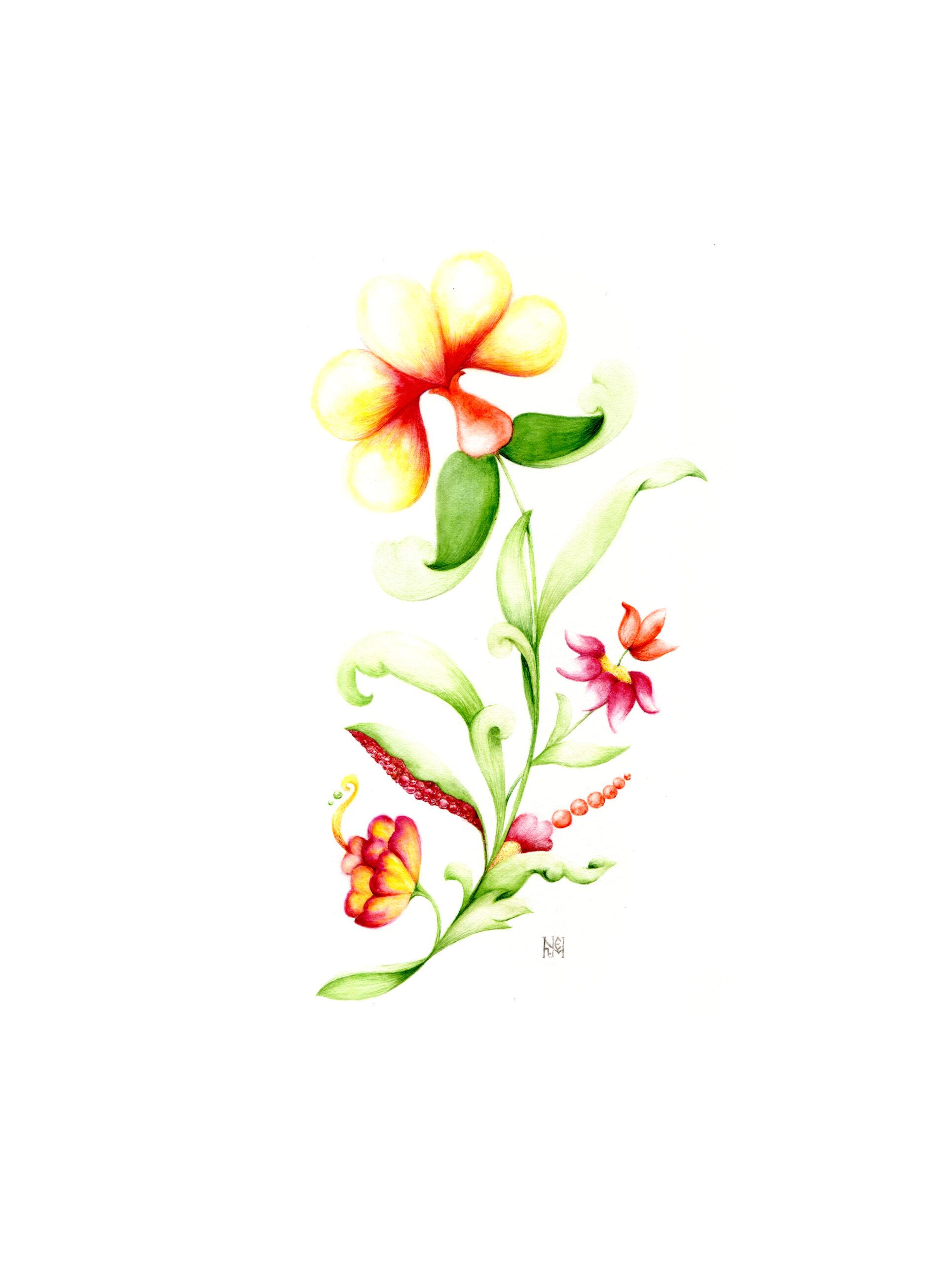 Ekaterina Nikidis Unseen flower series