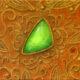 The Jadeite in the filigree